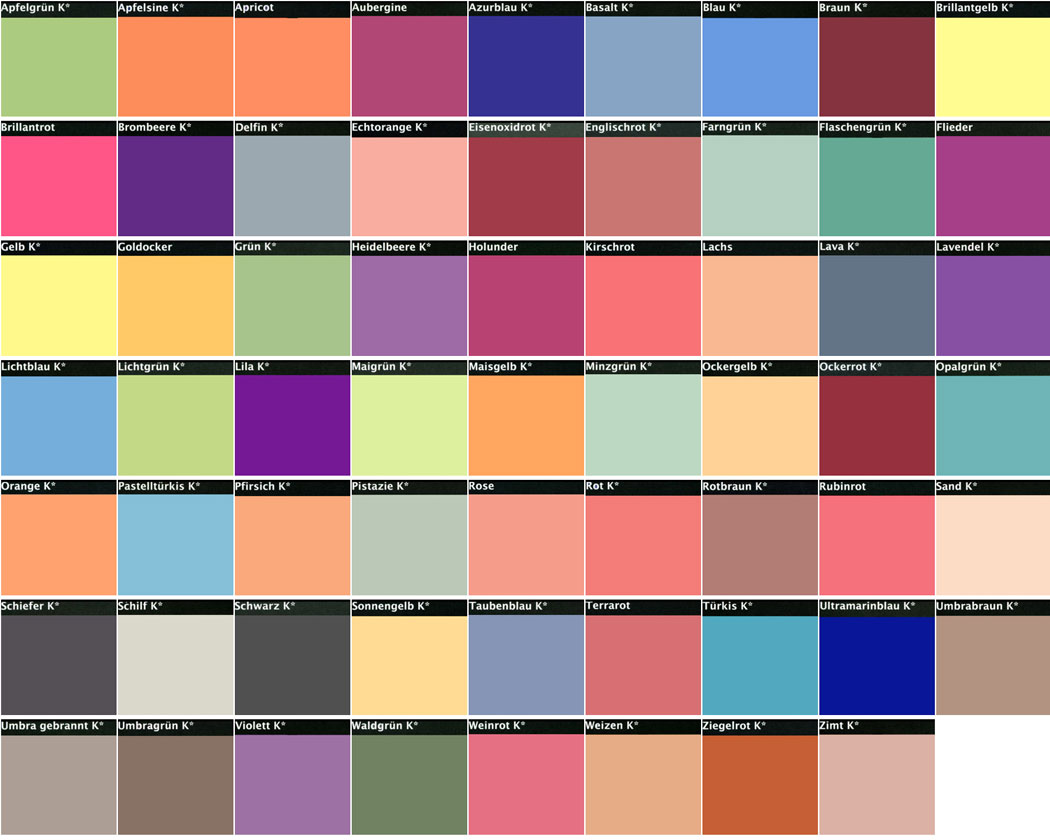 Alpina wandfarbe farbig
